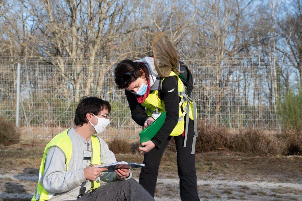 Prospections naturalistes sur le DA273 par le CEN Loir et Cher - Crédits : DA273 - MINARM